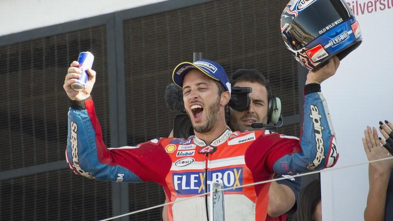 MotoGp Ducati, Domenicali: «Orgoglio Dovizioso»