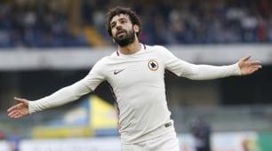 Top & flop Roma: guizzo Dzeko, Salah imprendibile