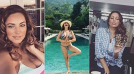 Vacanze italiane per la sexy Kelly Brook