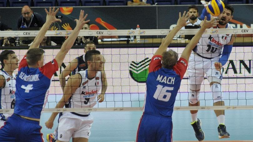 Volley: Europei, L'Italia supera la Repubblica Ceca ed è seconda nella Pool B
