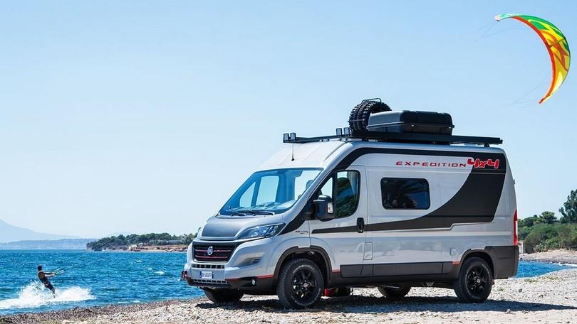 Fiat Ducato 4x4 Expedition, per veri avventurieri