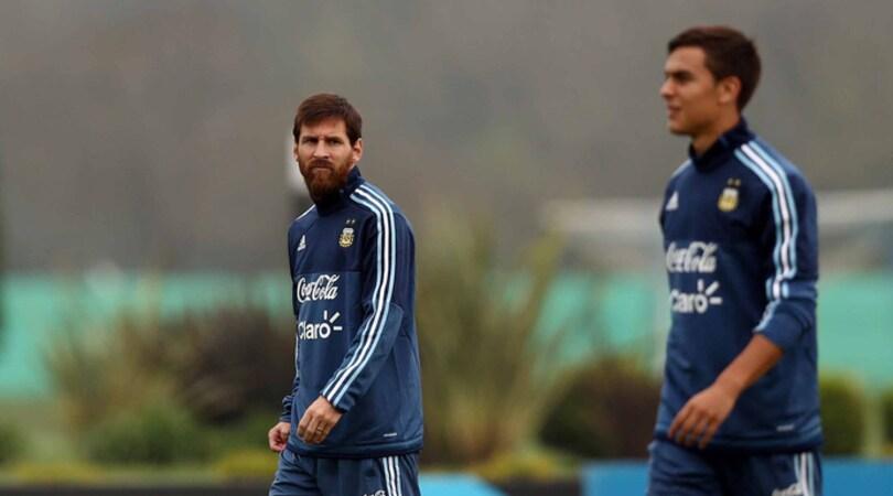 Argentina, Sampaoli: «Dybala e Messi si completino»