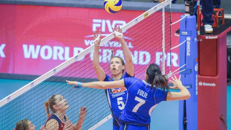 Volley: la nazionale femminile da domani in raduno a Milano