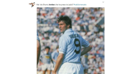 Lazio, BrunoJordão scatena il web: «È il figlio di Bruno Giordano?»