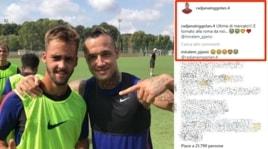 Nainggolan scherzo social ai tifosi della Roma: «Pjanic è tornato!...»