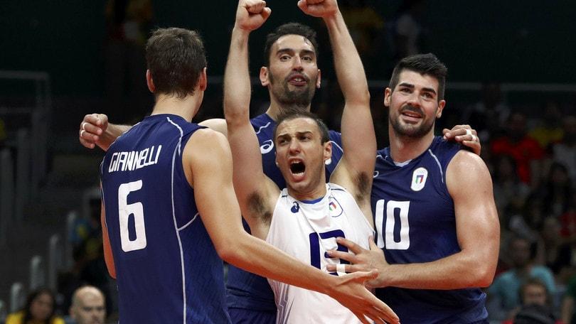 Europei volley: Belgio-Italia, azzurri avanti 1,49
