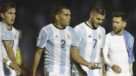 Uruguay-Argentina senza gol, vince il Brasile e crolla il Cile
