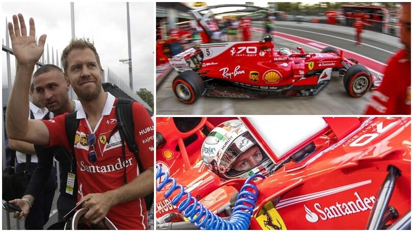 Monza si tinge di rosso per spingere la Ferrari nella corsa al titolo