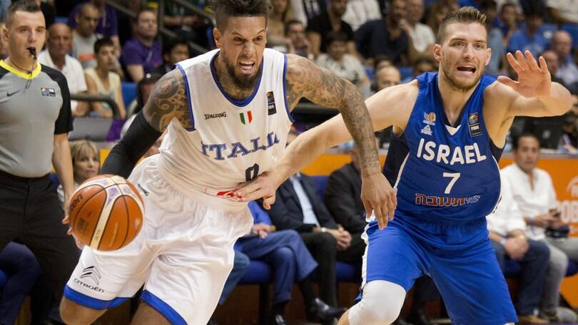 Europei basket: Italia ok, contro l'Ucraina vittoria a 1,07