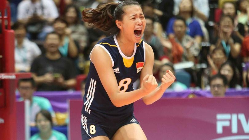 Volley: A1 Femminile, Zeng, una cinese alla Pomì Casalmaggiore