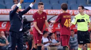 Roma, prima partita per Schick