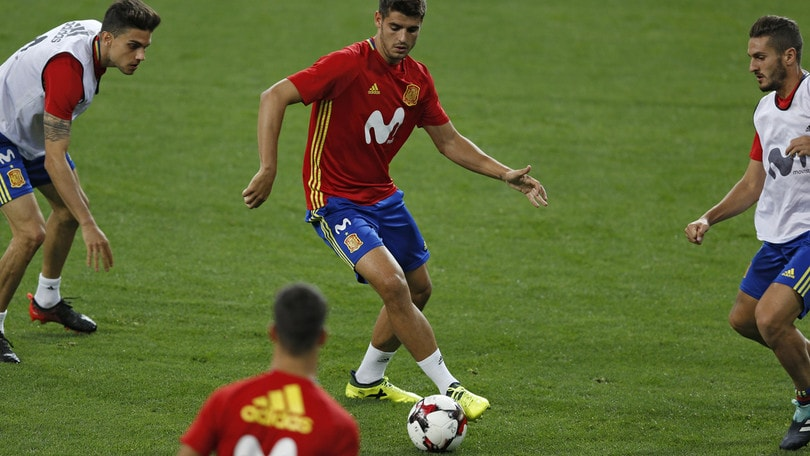 Qualificazioni mondiali: Spagna-Italia, in quota pericolo Morata