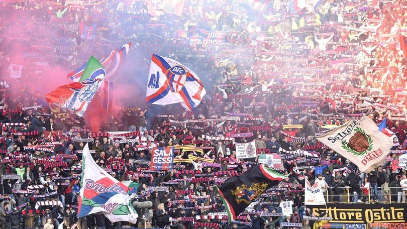 Serie A Bologna, Daspo per due tifosi