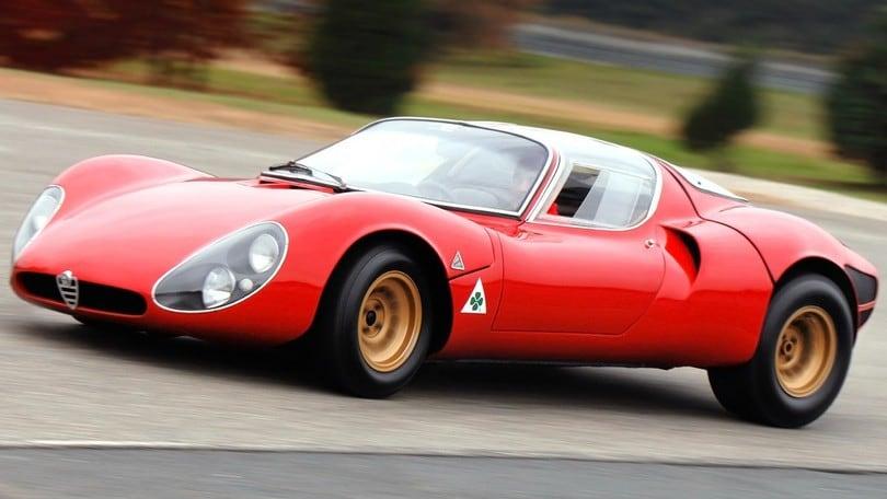 Alfa Romeo 33 Stradale, 50 anni di grande bellezza