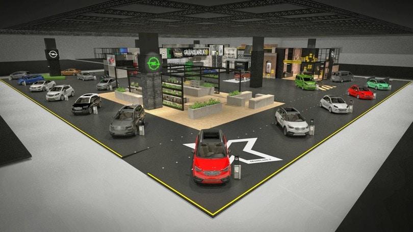 X-Ville: Opel a Francoforte con uno stand