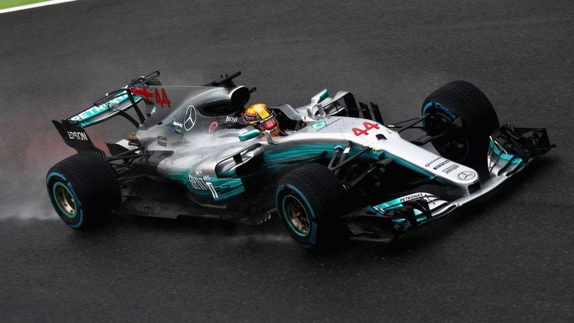 F1, Gp Italia: Hamilton a 1,28, Ferrari ko anche in quota