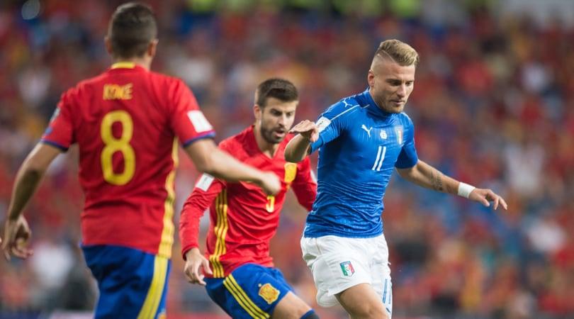 Spagna-Italia, quanti fischi per Piqué al Bernabeu!