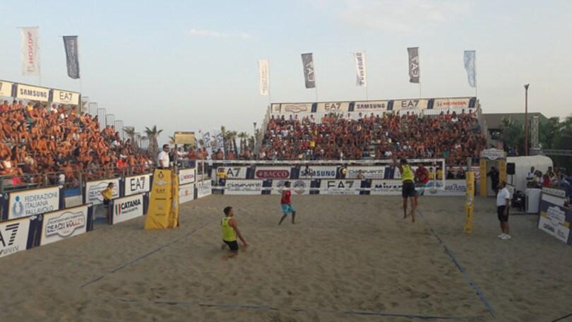 Beach Volley: a Catania Lupo-Nicolai ancora protagonisti