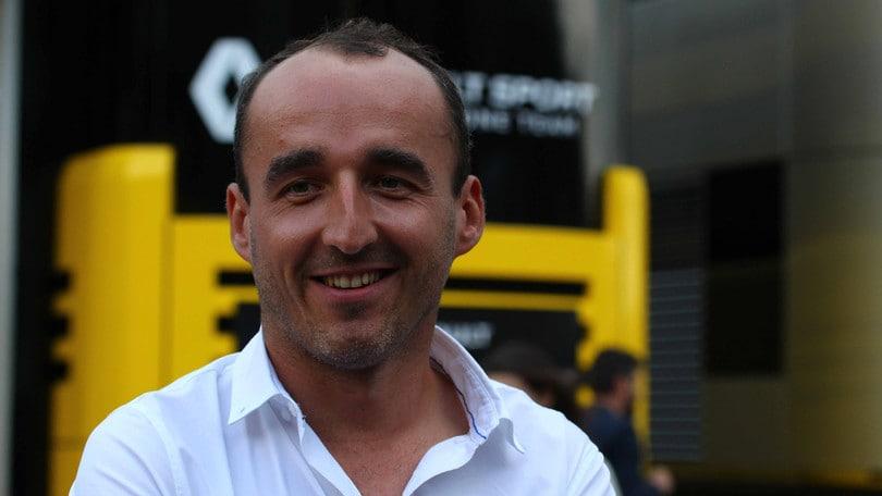 F1, Kubica: «Orgoglio e soddisfazione tornare in F1»