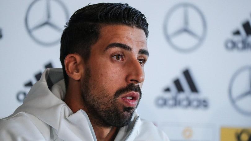 Germania, Khedira ha già recuperato: «Il ginocchio sta bene, gioco contro la Norvegia»