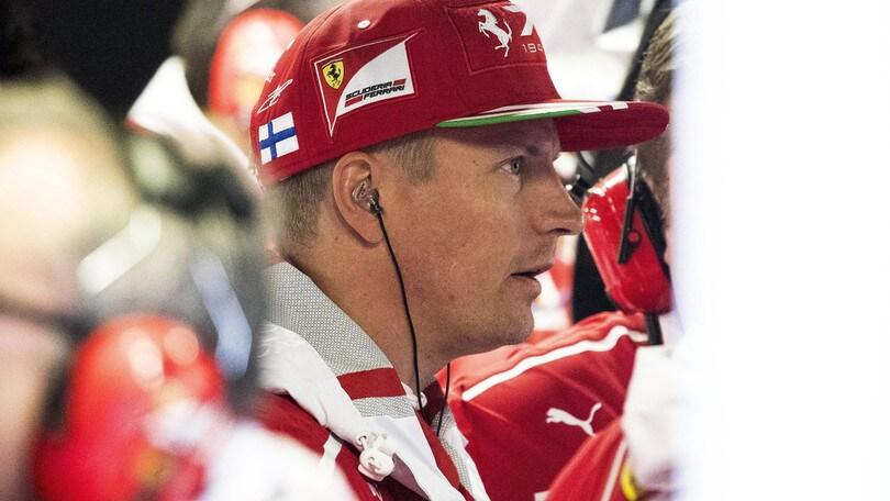 F1, Raikkonen: «Non sentivo bene la macchina»