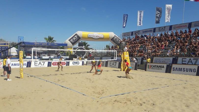 Beach Volley: Lupo-Nicolai e Giombini-Zuccarelli sono le coppie tricolori