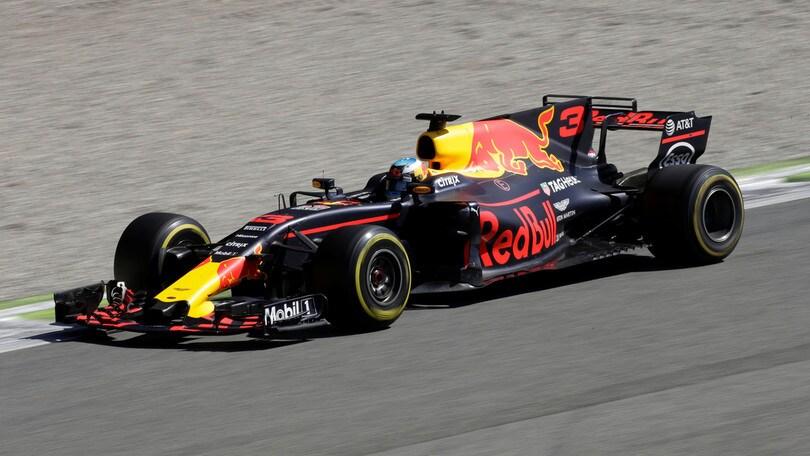 F1 Red Bull, Ricciardo: «L'anno prossimo punto al podio»