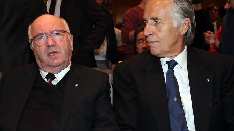 Italia, Malagò: «Nazionale, rialzati. Ora basta passi falsi»