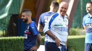 Italia, Insigne e Ventura ritrovano il sorriso