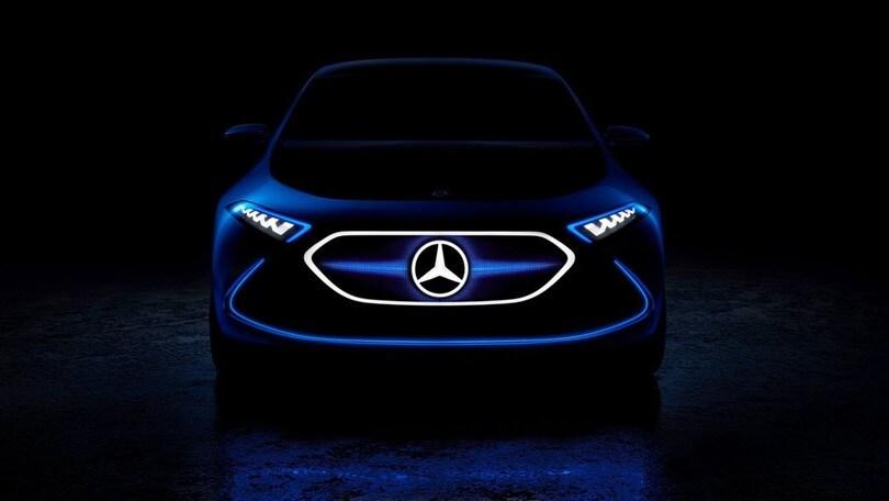 Mercedes, a Francoforte con una nuova concept elettrica