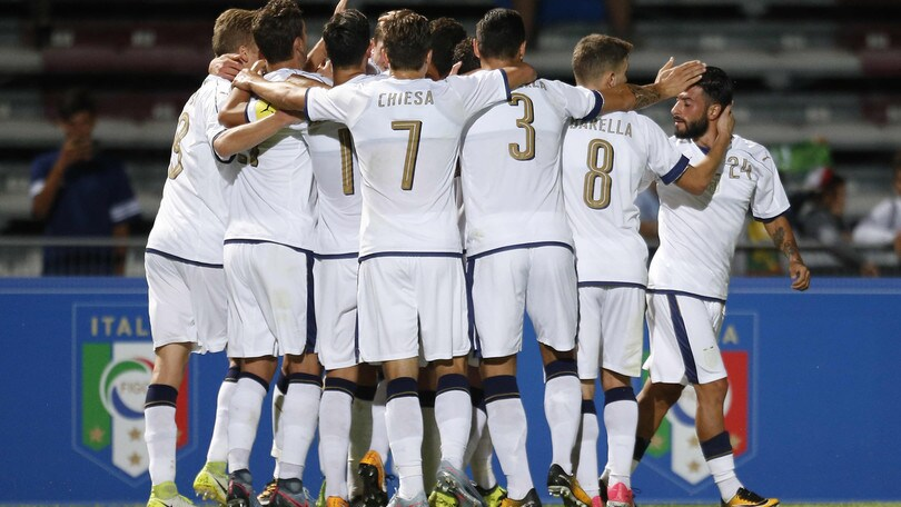 Under 21, Italia-Slovenia 4-1: è sempre Cutrone! Di Biagio sorride