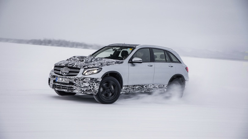 Mercedes GLC Fuel Cell: nel 2018 l'ibrida a idrogeno