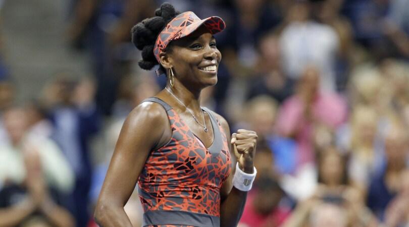 Eterna Venus: è in semifinale agli Us Open. Busta e Anderson avanti tra gli uomini
