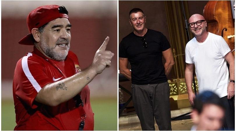 Maradona denuncia Dolce e Gabbana: «Sfruttato il mio nome»