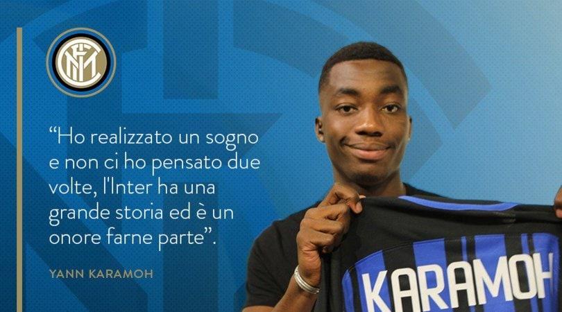 Inter, Karamoh: «Volevo la maglia nerazzurra a tutti i costi»