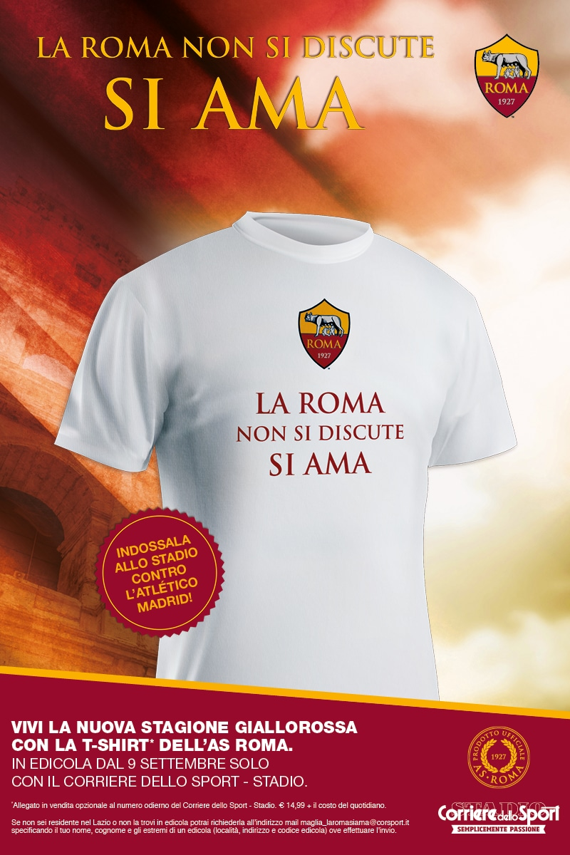 T-Shirt AS Roma