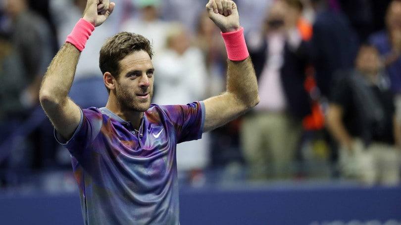 Tennis, Us Open: Del Potro boom, il trionfo crolla da 25,00 a 2,65