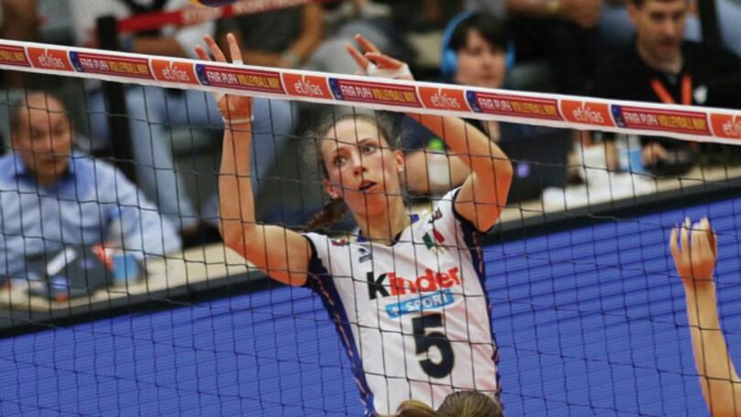 Volley: per Ofelia Malinov niente Europei