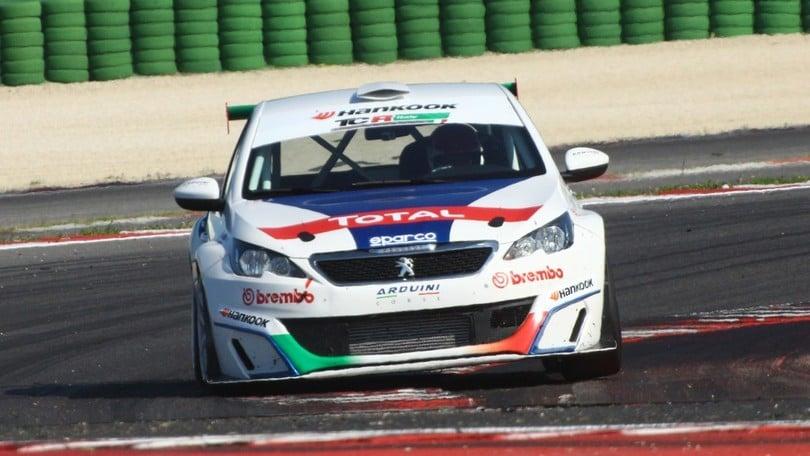 Campionato TCR, il Corsport in pista a Imola con Peugeot
