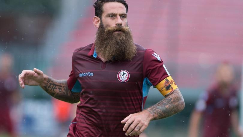 Serie C, Arezzo-Pistoiese 1-2: non basta Moscardelli
