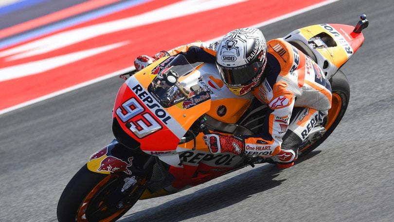 MotoGp, a San Marino torna in testa Marquez