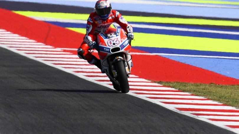 MotoGp San Marino, Dovizioso in testa nelle ultime libere