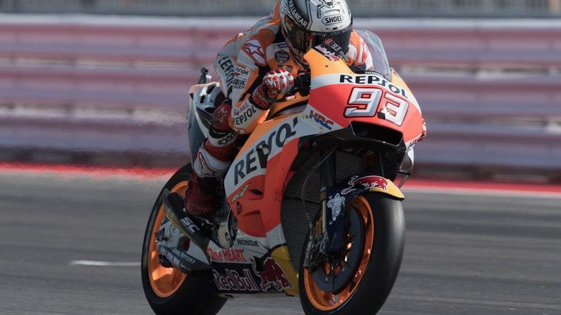 MotoGp San Marino, Marquez: «Il passo è buono»