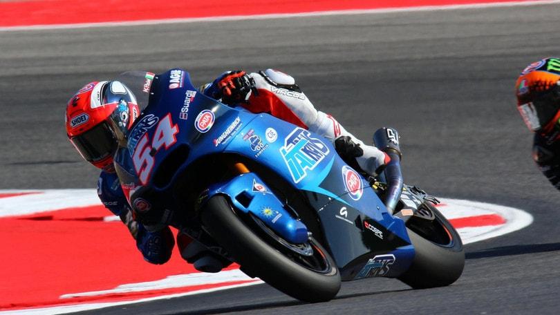 Moto2 San Marino, Pasini ancora in pole