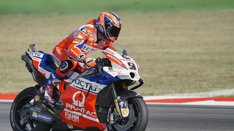 MotoGp San Marino, Petrucci: «Contento del podio, ma sognavo di vincere»