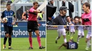 Var infinito: la sequenza del rigore assegnato all'Inter dopo 5' di pausa