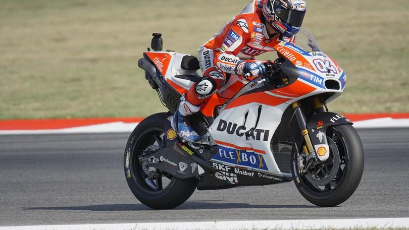 MotoGp San Marino, Dovizioso: «Il terzo posto va benissimo»