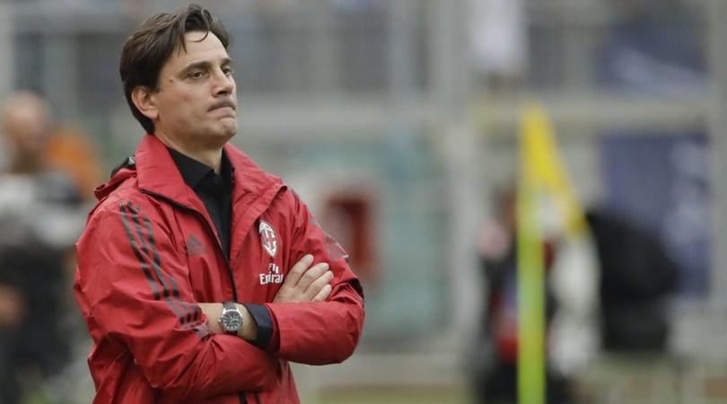 Milan, Montella: «Bonucci? Le critiche lo stimoleranno»