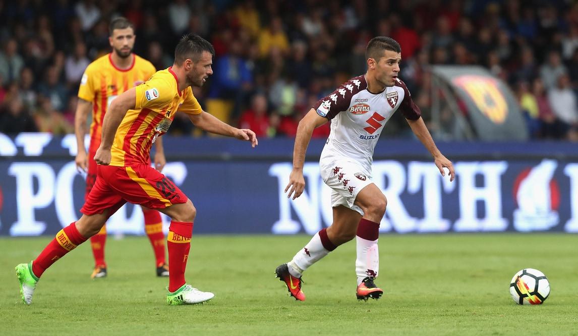 Benevento-Torino 0-1: Iago Falque piega Baroni in extremis