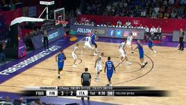 Eurobasket - Finlandia - Italia 57-70